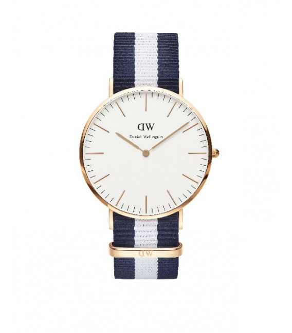 CLASSIC GLASGOW WATCH ROSE GOLD 40mm