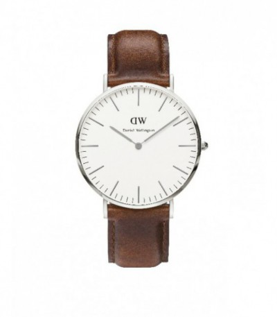 CLASSIC ST MAWES WATCH SILVER 40mm