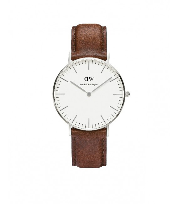 CLASSIC ST MAWES WATCH SILVER 36mm