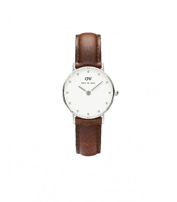 CLASSY ST MAWES WATCH SILVER 26mm