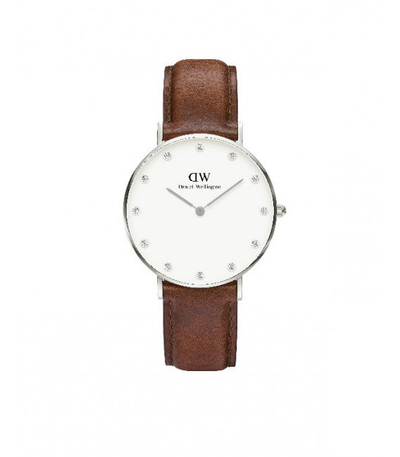 CLASSY ST MAWES WATCH SILVER 34mm