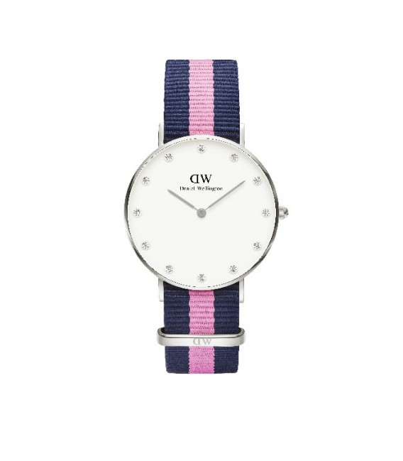CLASSY WINCHESTER WATCH SILVER 34mm