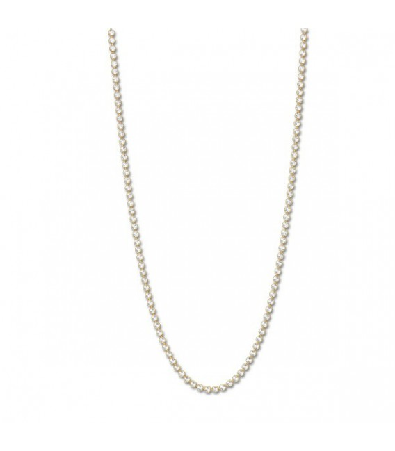 NECKLACE SILVER GOLD PLATED G. 80CM