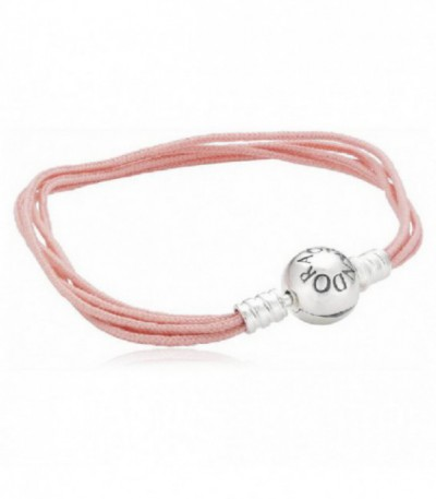 PULSERA MULTICORDON ROSA CPAND
