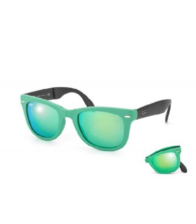 Fold Wayfarer green / grey