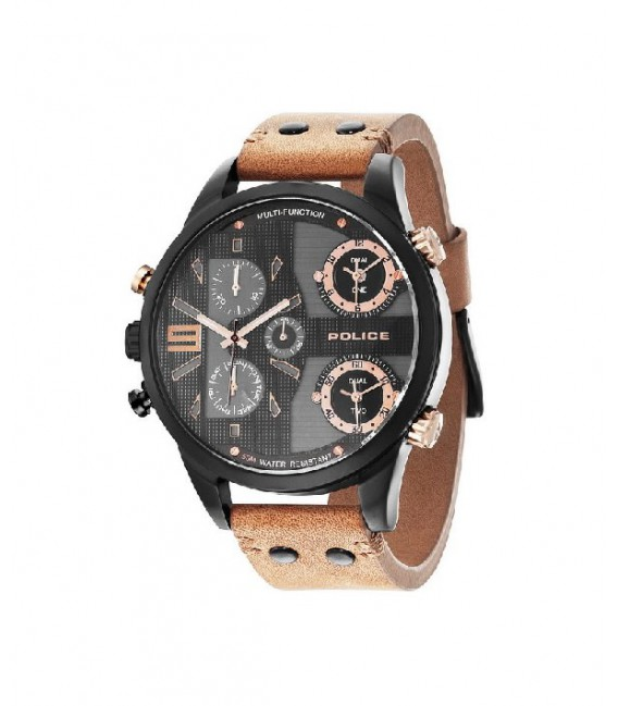 COPPERHEAD MULTI BLACK DIAL CAMEL STR