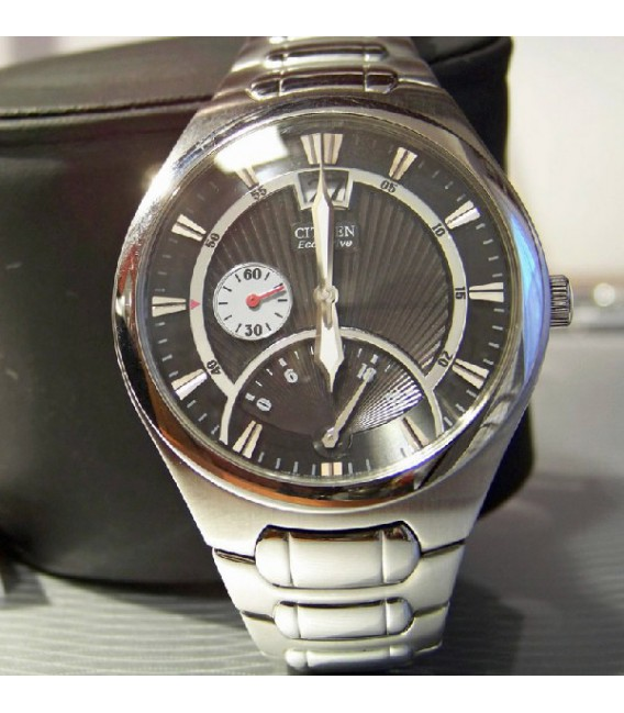 ECO DRIVE RETROGRADE