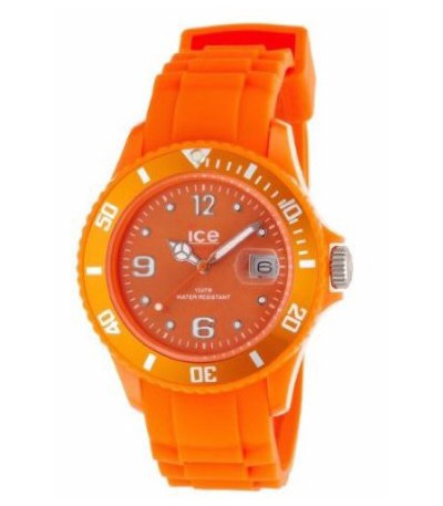 RELOJ ICE SILI ORANGE