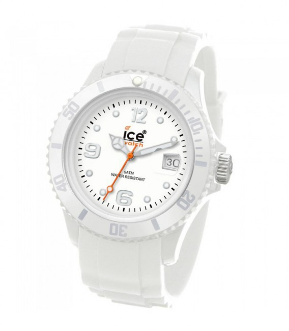 RELOJ ICE SILI WHITE -BIG