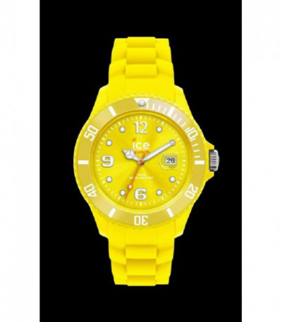 RELOJ ICE SILI YELLOW