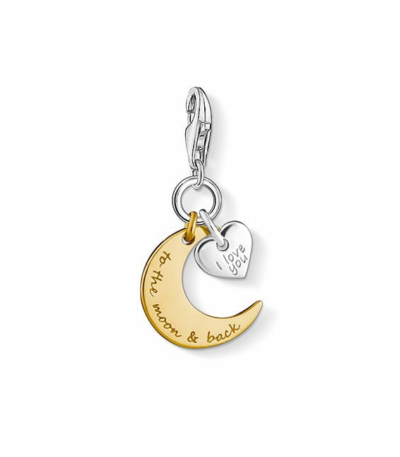 CHARM I LOVE YOU TO THE MOON & BACK