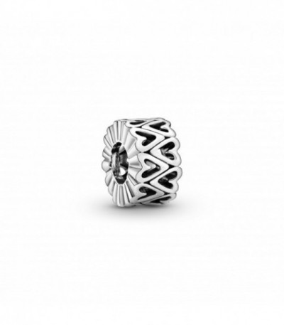 HEARTS SILVER SPACER